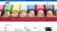 Aktuální webové stránky průmysl