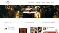 Aktuální webové stránky starožitnosti