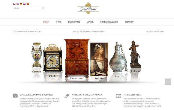 Aukce a prodej exkluzivního umění