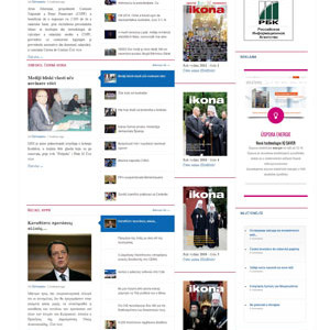 Ikonapress zpravodajsky portal