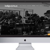 INDIGO FILM – návrh grafického layoutu