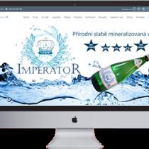 Imperator Water – přírodní slabě mineralizovaná voda