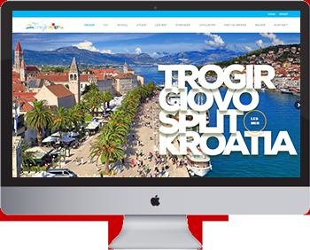 Feriehus Trogir, Ciovo, Split i Kroatia